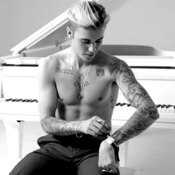 Watch Justin Bieber Awkwardly Explain His Selena Gomez Tattoo And