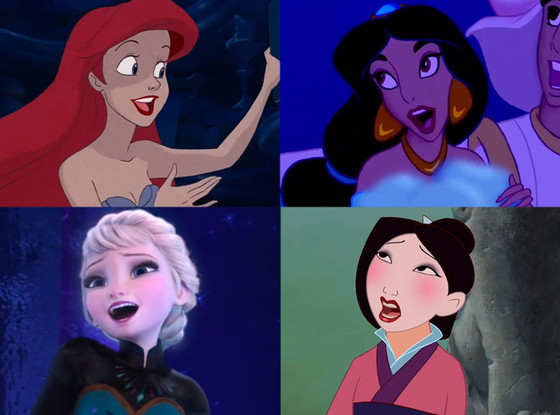 Disney Princesses, Singing