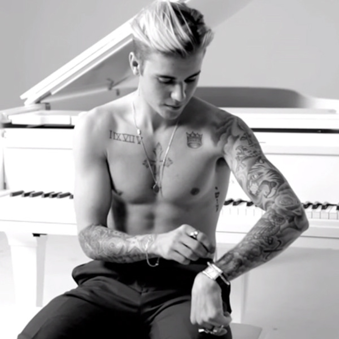 How Well Do You Know Justin Bieber S Tattoos E Online