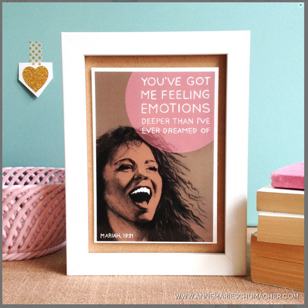 Mariah Carey Fan Art, Gifts, Etsy