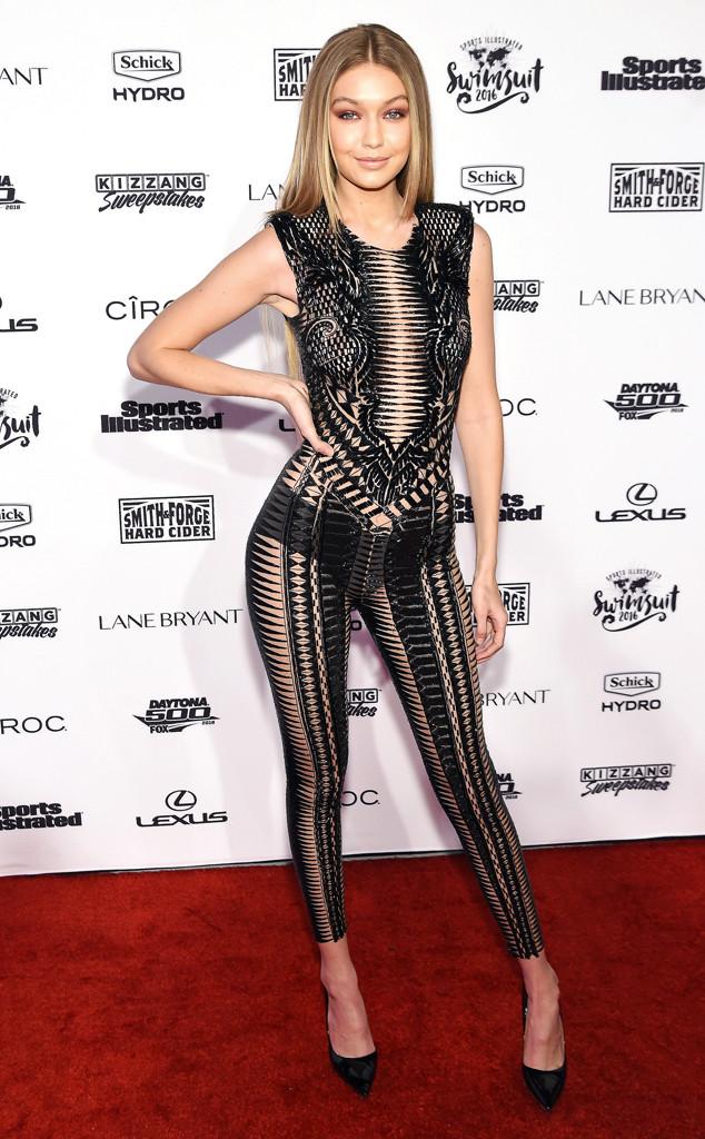 $129.99 - Gigi Hadid Sports Illustrated Swimsuit Sexy Signed 11x14 Photo PSA/DNA #AA82480