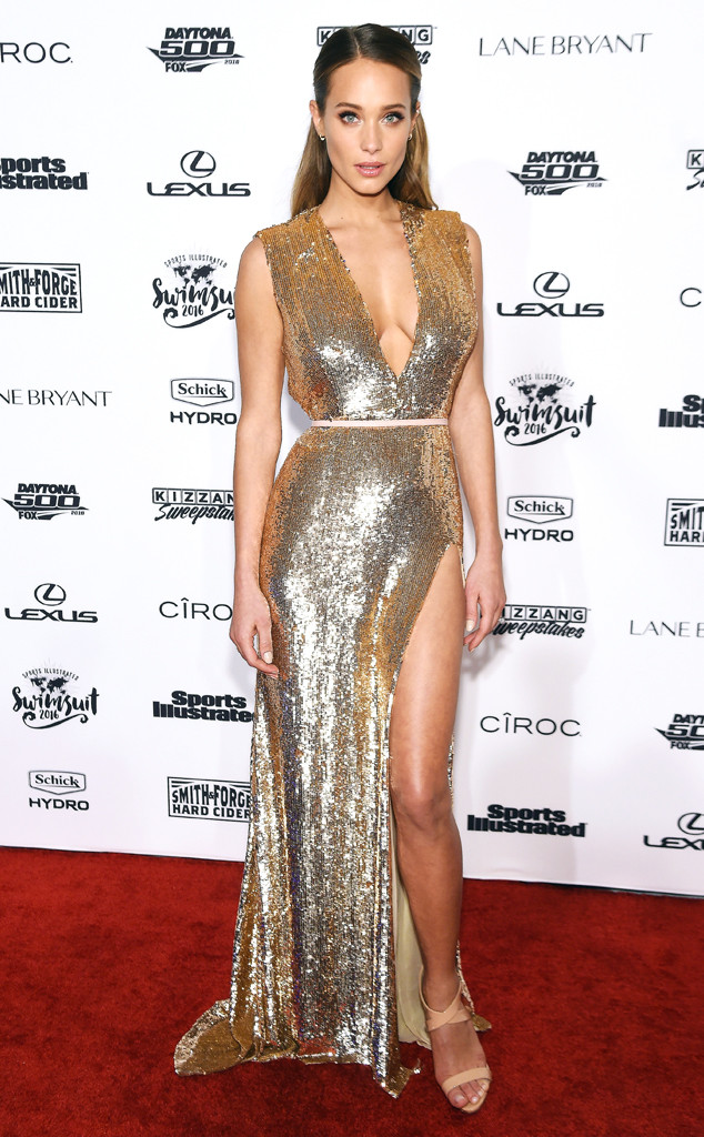 Hannah Davis, Sports Illustrated Party