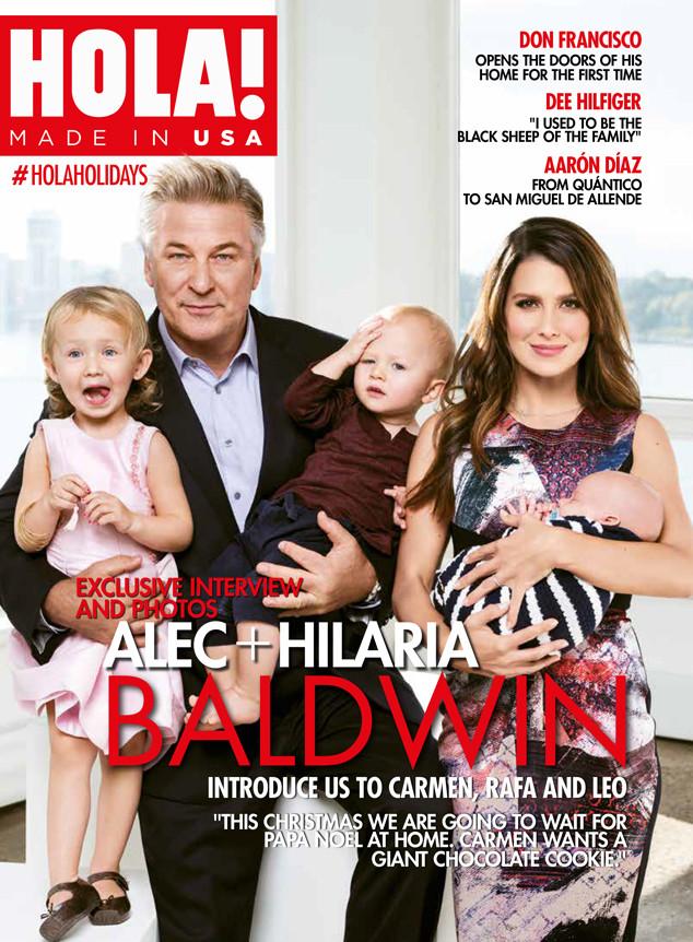 Alec Baldwin, Hilaria Baldwin, HOLA!