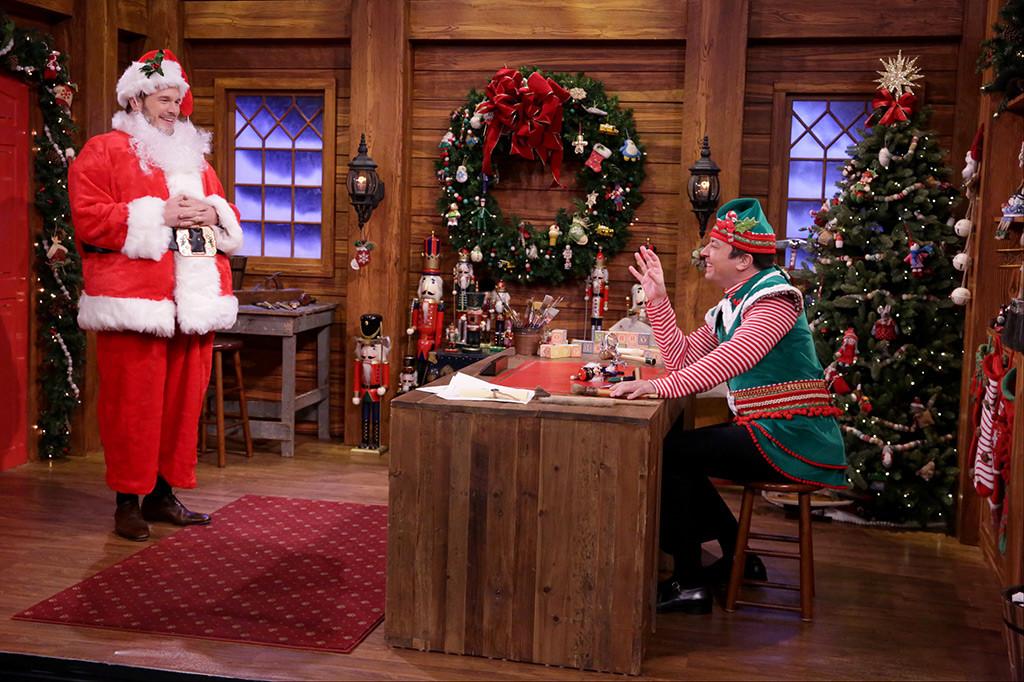 Chris Pratt, Jimmy Fallon, The Tonight Show