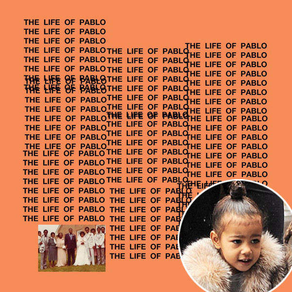 The Life of Pablo, Kanye West, North West