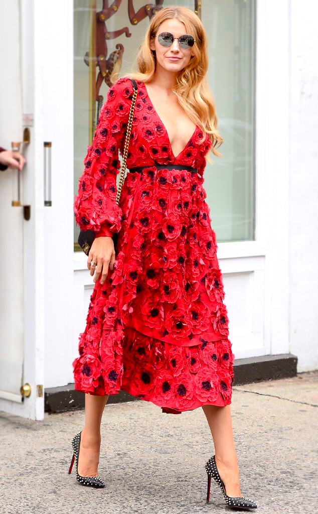 Blake Lively, NYFW, ESC: Dare To Wear