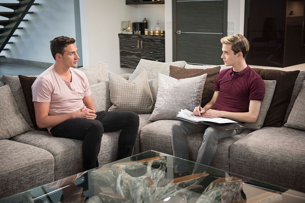 Tyler Henry, Ryan Lochte, Hollywood Medium