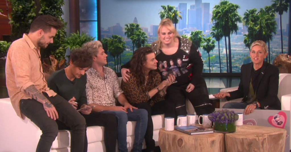 Rebel Wilson, The Ellen DeGeneres Show