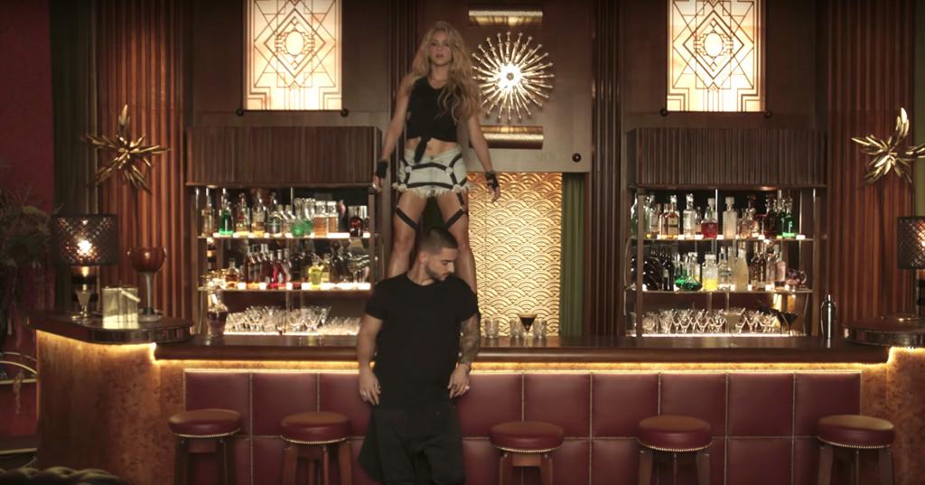 Shakira, Maluma Chantaje, Music Video