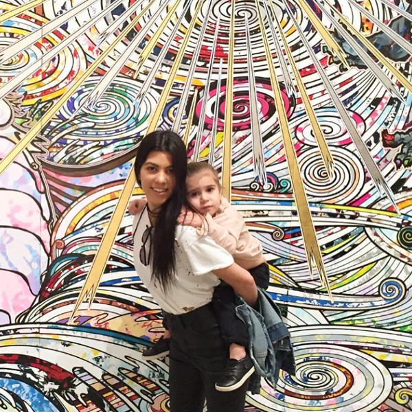 Kourtney Kardashian, Penelope, Instagram