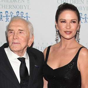 Kirk Douglas, Catherine Zeta-Jones, Michael Dougles