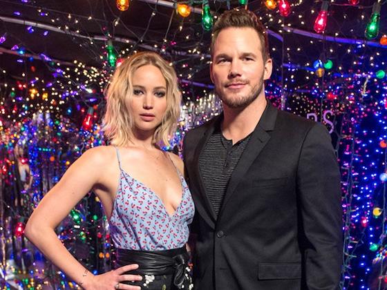 Chris Pratt und Jennifer Lawrence beschimpfen sich gegenseitig (und es ist herrlich witzig!)