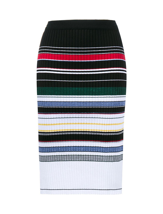ESC: Saturday Savings Color Block Skirt