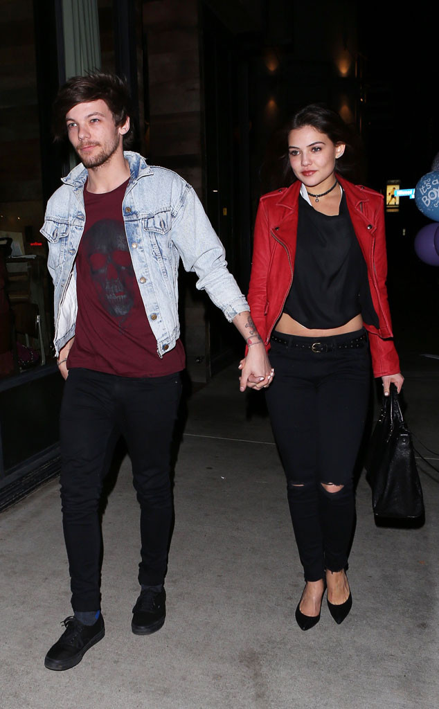 Louis Tomlinson Still Going Strong With Danielle Campbell ...