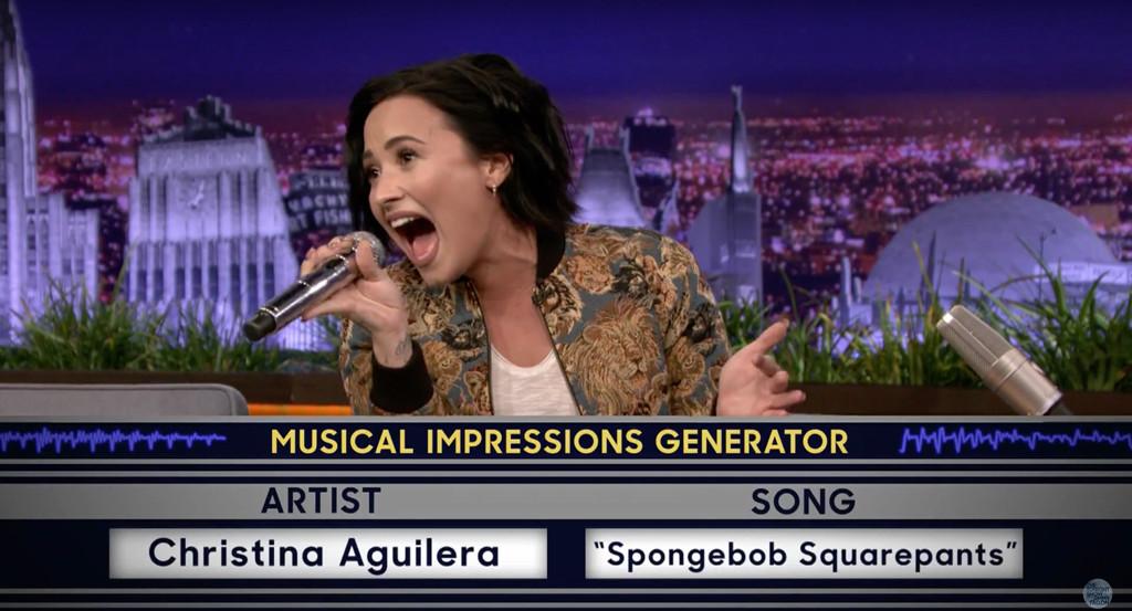 Demi Lovato, The Tonight Show
