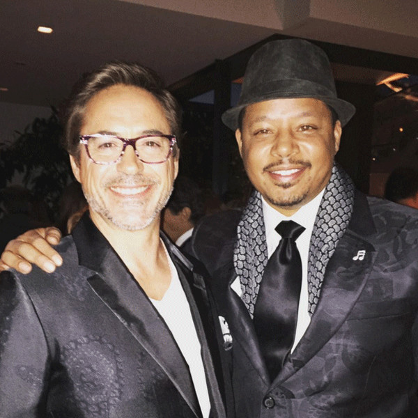 Iron Man Stars Terrence Howard And Robert Downey Jr Are All Good
