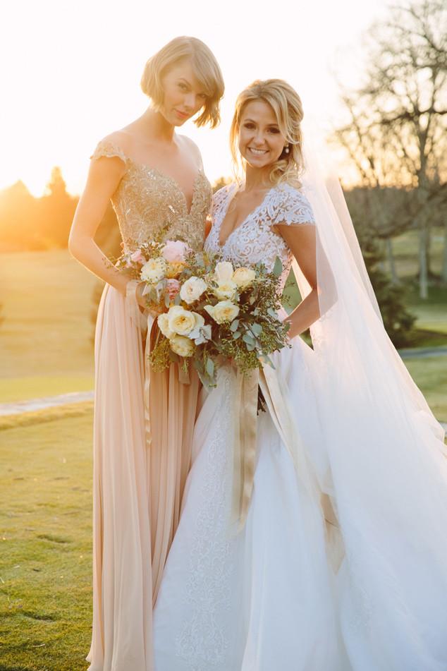 Taylor Swift, Britany Maack, Wedding