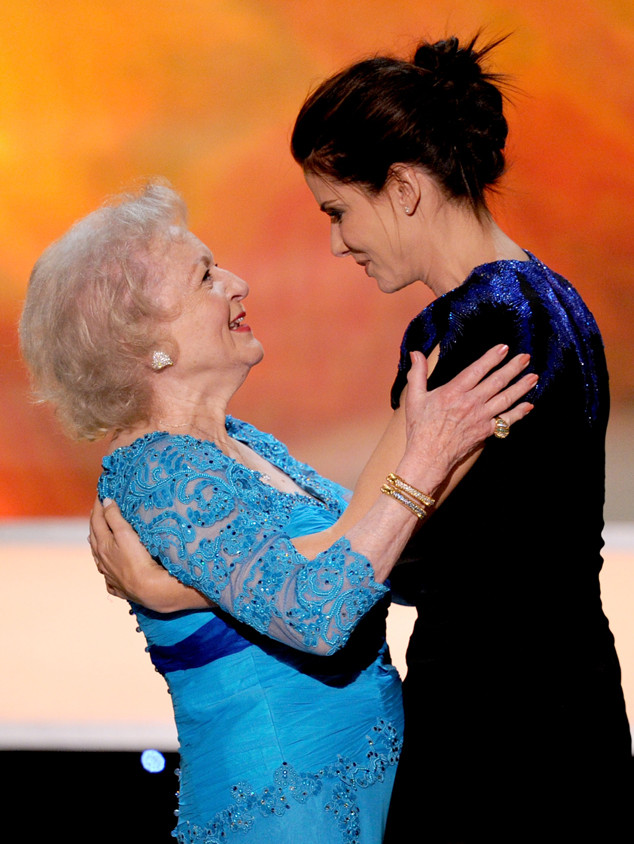 Betty White, Sandra Bullock
