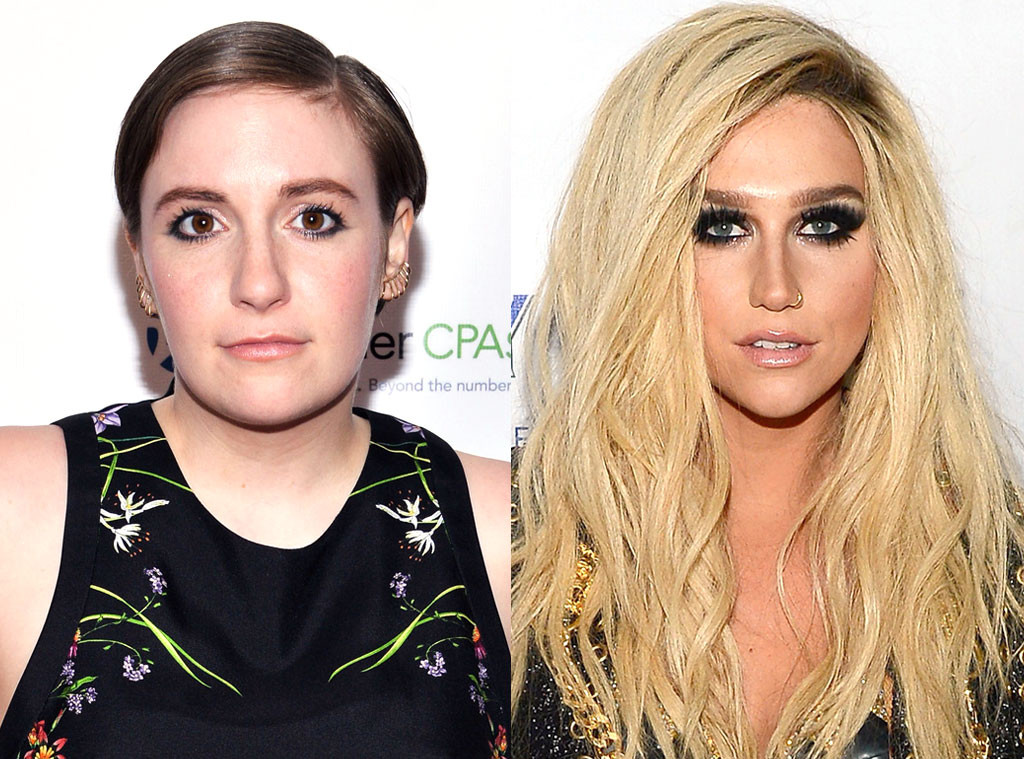 Kesha, Lena Dunham
