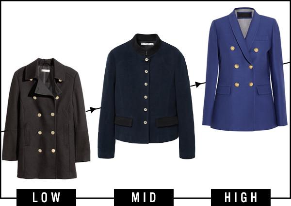ESC, Dare to Wear, Military Coats