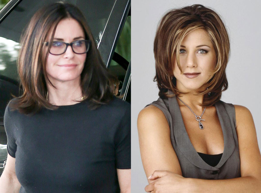 Courteney Cox Gets An Updated Version Of The Rachel And Were