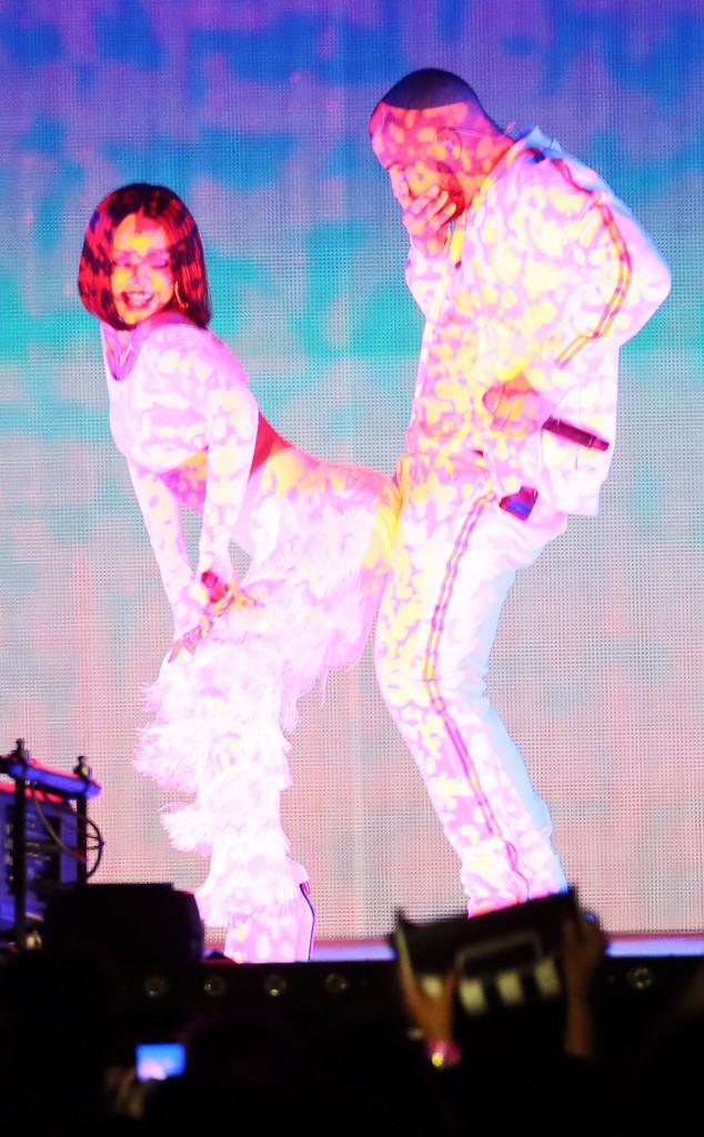 Drake, Rihanna, BRIT Awards, Performing