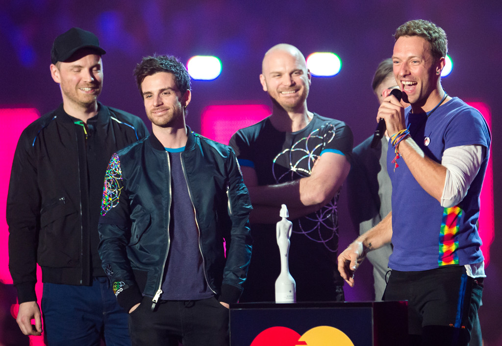 Chris Martin, Coldplay, Brit Awards