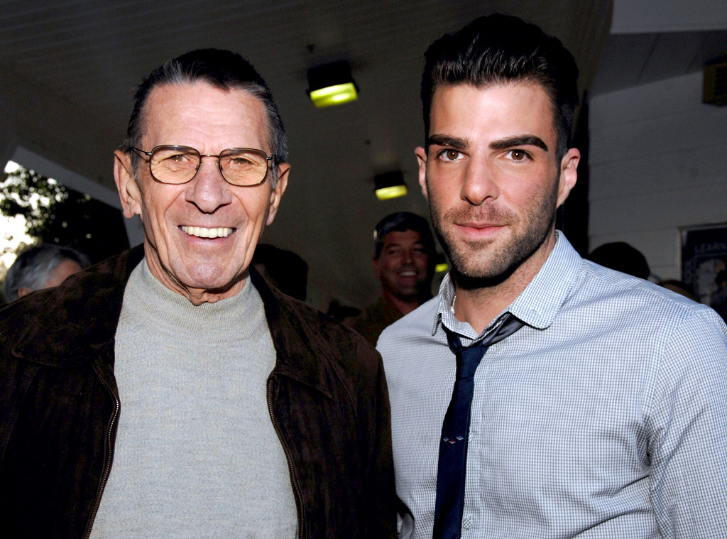 zachary quinto remembers leonard nimoy fondly a year after star trek