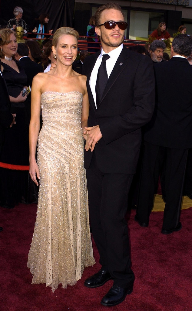Oscar Couples, Naomi Watts, Heath Ledger