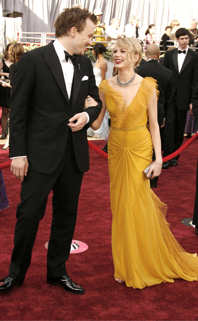 Heath Ledger, Michelle Williams, Oscars Chic