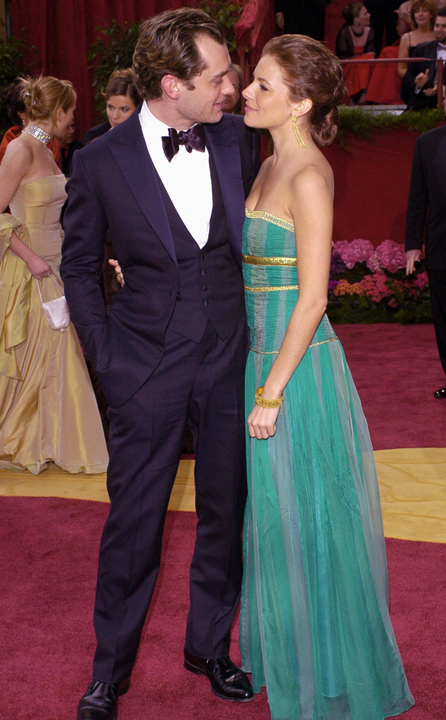 Jude Law, Sienna Miller, Oscars Couples