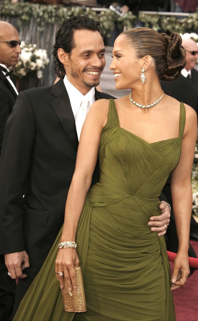 Oscar Couples, Marc Anthony, Jennifer Lopez