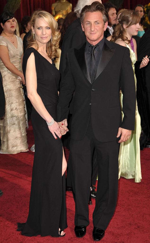 Robin Wright Penn, Sean Penn, Oscars Couples