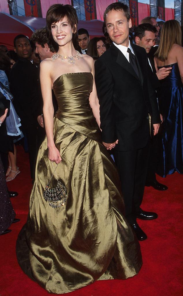 Hilary Swank, Chad Lowe, Oscars Couples