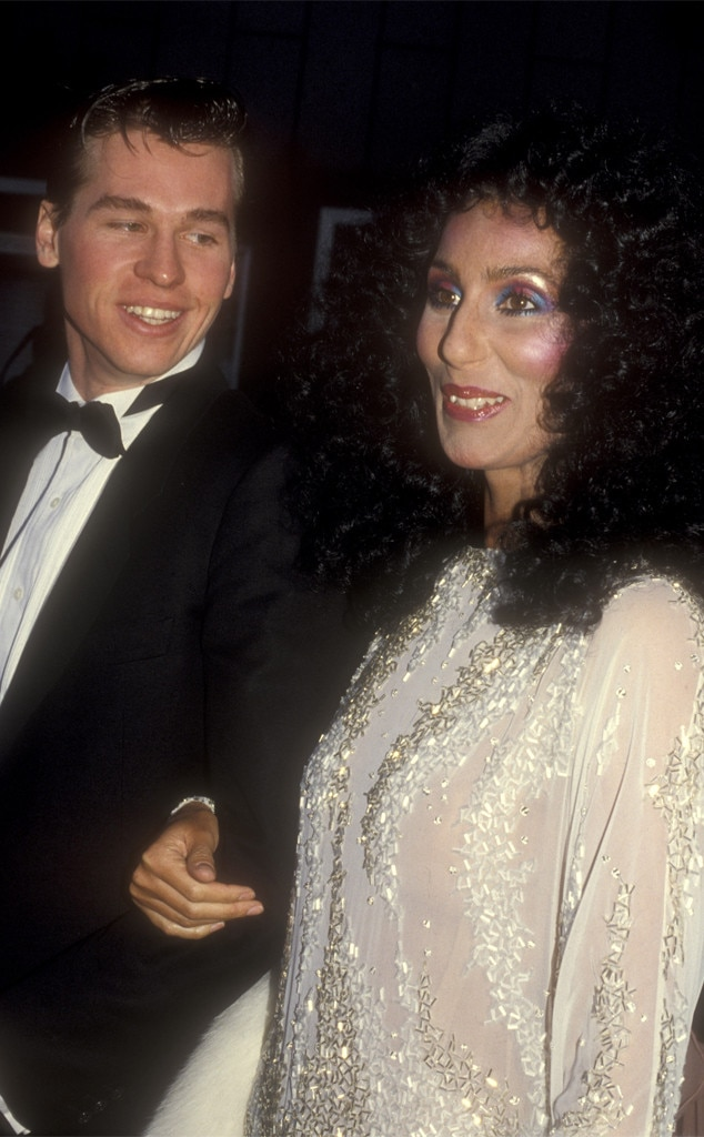 val kilmer  u0026 cher from throwback  couples at the oscars