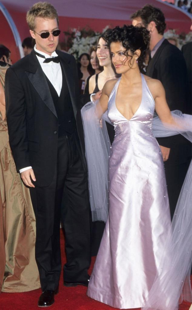 Oscar Couples, Salma Hayek, Ed Norton