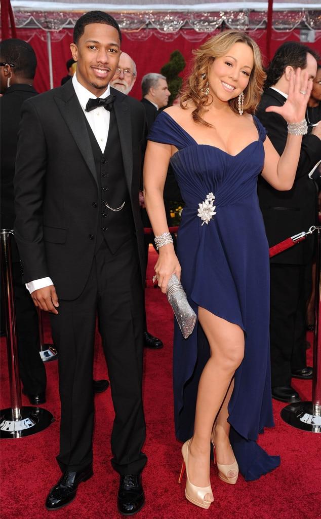 Oscar Couples, Nick Cannon, Mariah Carey