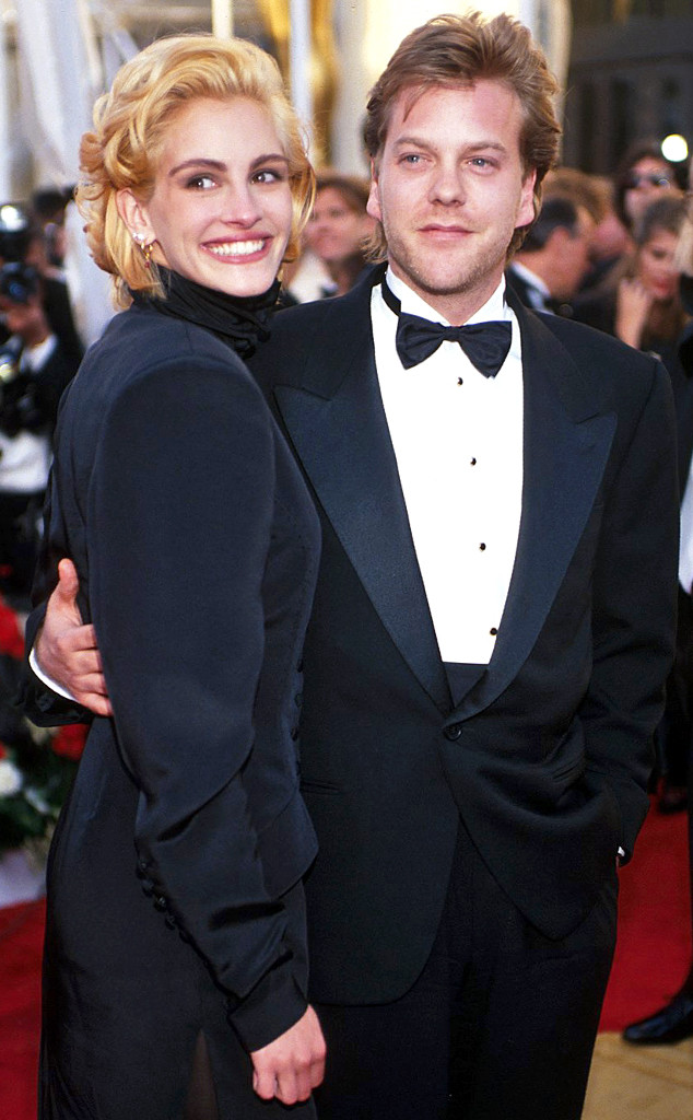 Oscar Couples, Julia Roberts, Kiefer Sutherland, 90s Scandals
