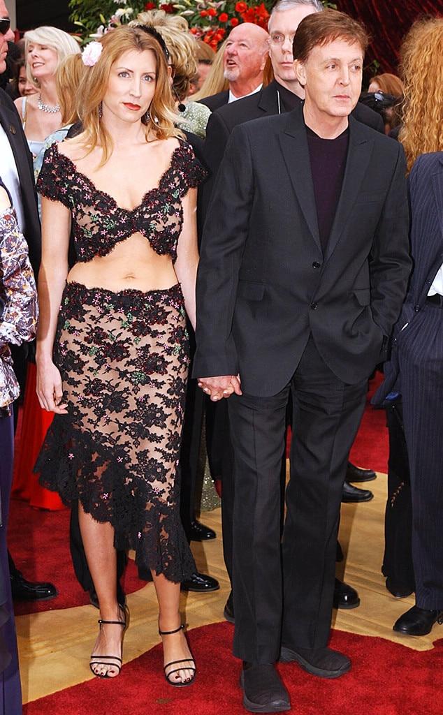 Oscar Couples, Heather Mills, Paul McCartney