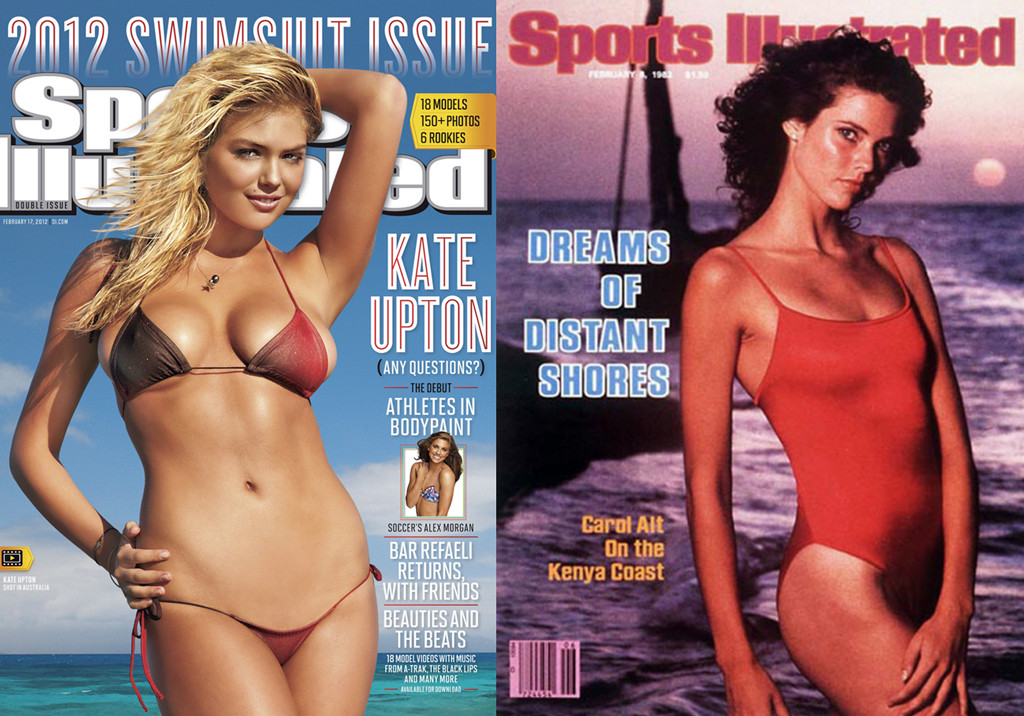 Kate Upton, Carol Alt, Sports Illustrated Magazine