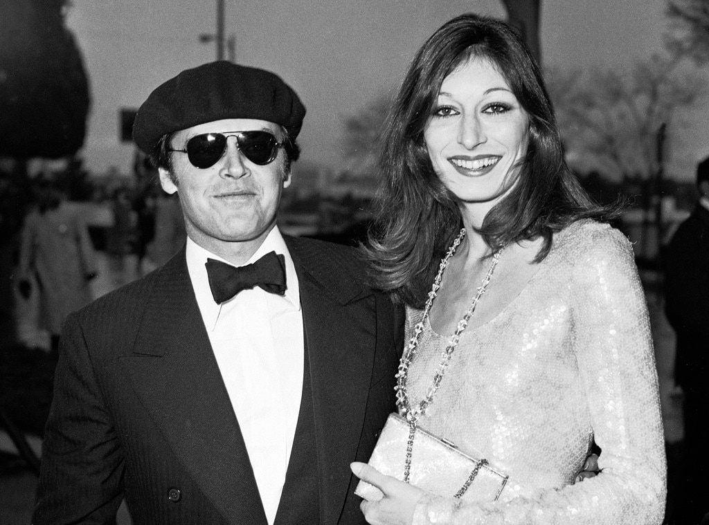 Jack Nicholson, Anjelica Huston, Oscars Chic