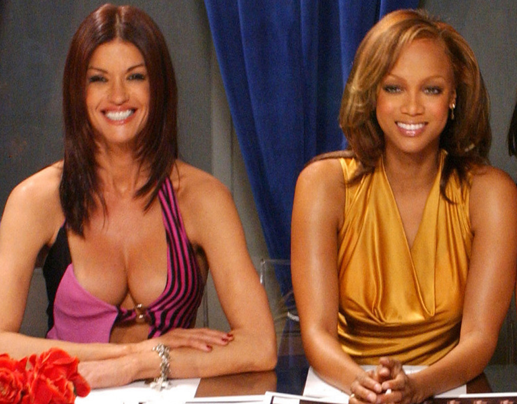Janice Dickinson, Tyra Banks, America's Next Top Model