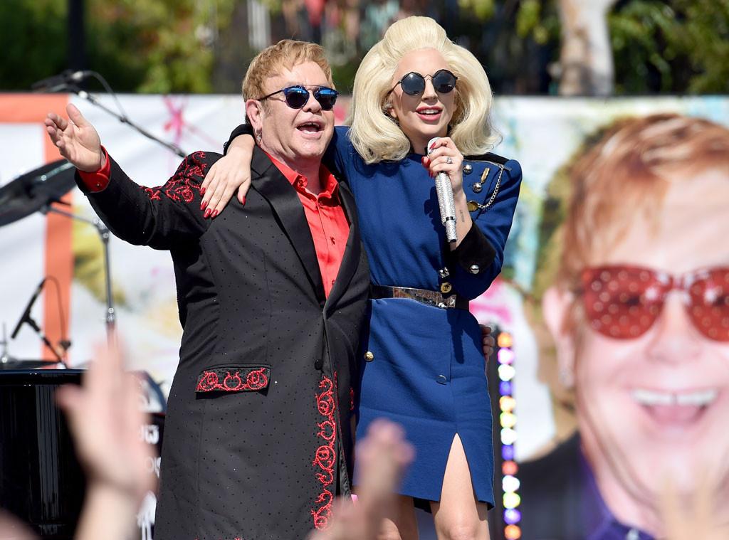 Lady Gaga, Elton John