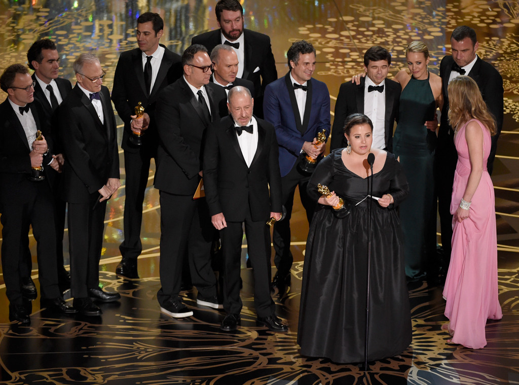 Spotlight Wins Best Picture at Oscars 2016 | E! News