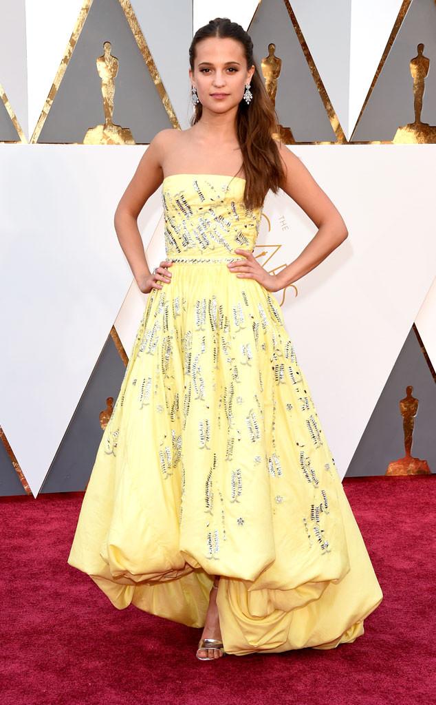 2016 Oscars, Academy Awards, Arrivals, Alicia Vikander