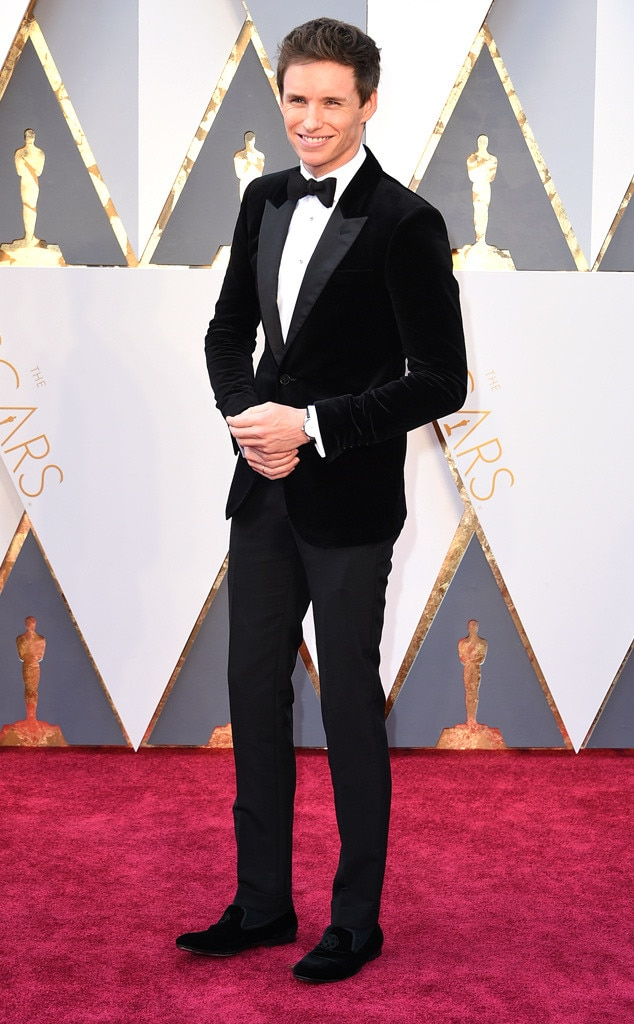Eddie Redmayne, 2016 Oscars, Academy Awards, Arrivals