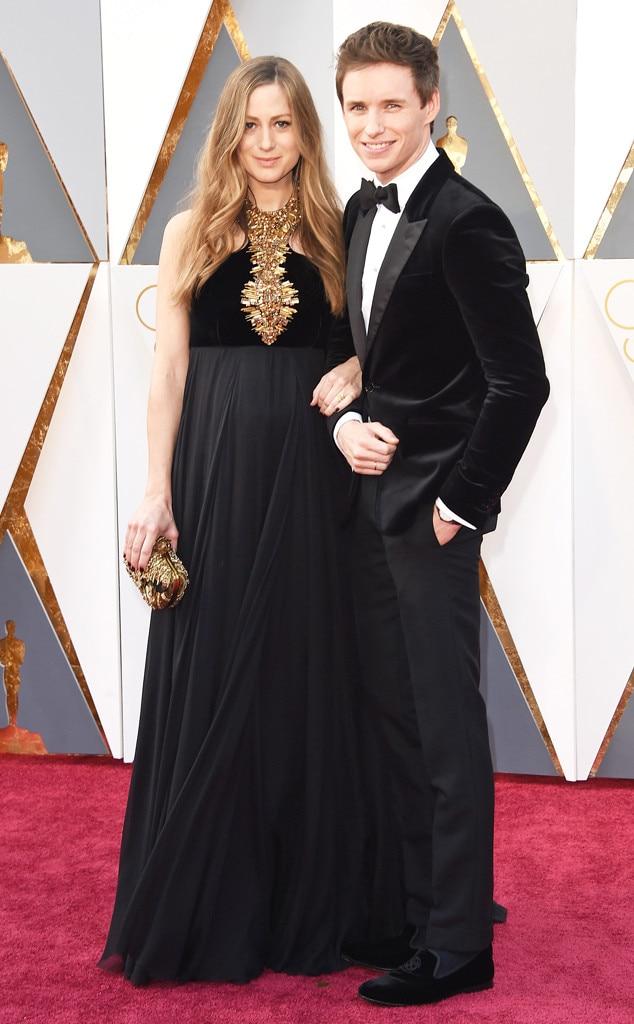 2016 Oscars, Academy Awards, Arrivals, Eddie Redmayne, Hannah Redmayne, Couples