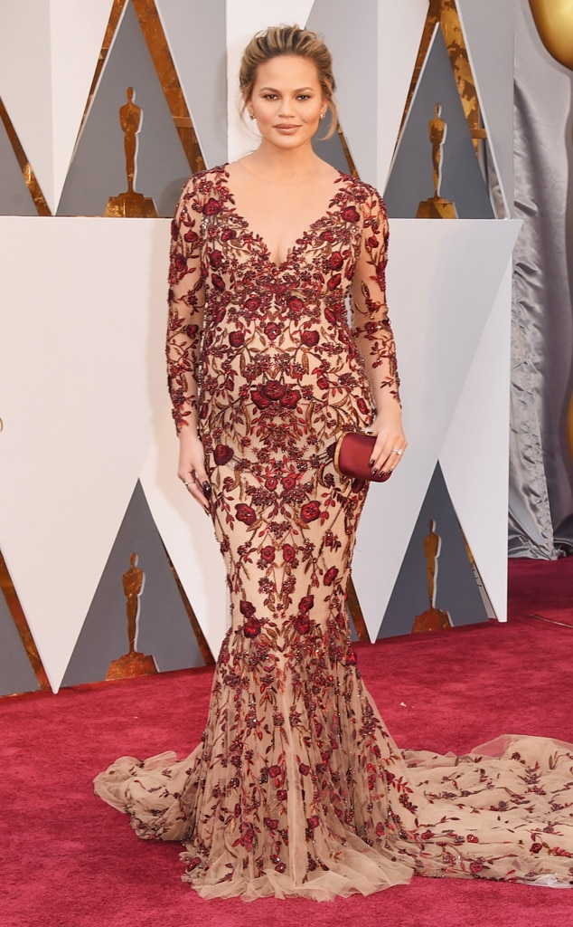 Chrissy Teigen, 2016 Oscars, Academy Awards, Arrivals