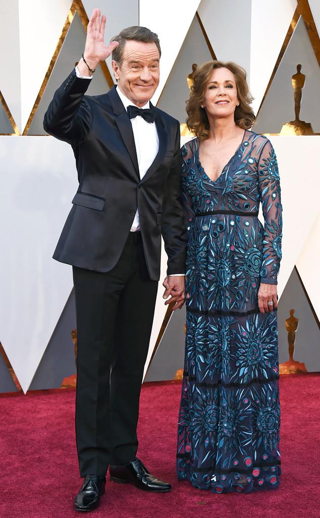 2016 Oscars, Academy Awards, Arrivals, Bryan Cranston, Robin Dearden, Couples