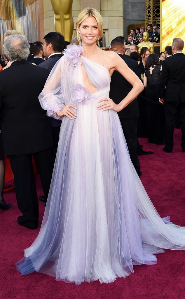 Heidi Klum, 2016 Oscars, Academy Awards, Arrivals